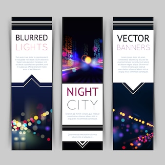 City banner vertical