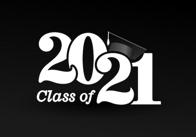 Classe de avec bonnet de graduation.