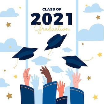 Classe plate d'illustration 2021