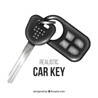 Clé de voiture réaliste