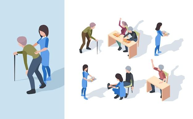 Clinique de soins infirmiers pour personnes âgées.