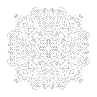Clipart cosmique pour cahier de coloriage avec des étoiles