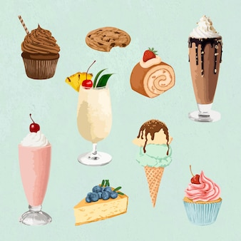 Clipart dessert