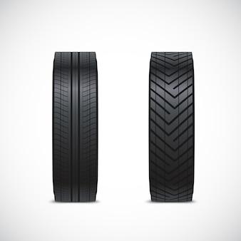 Clipart de pneu de vecteur