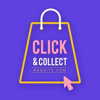 Cliquez et collectez avec la flèche