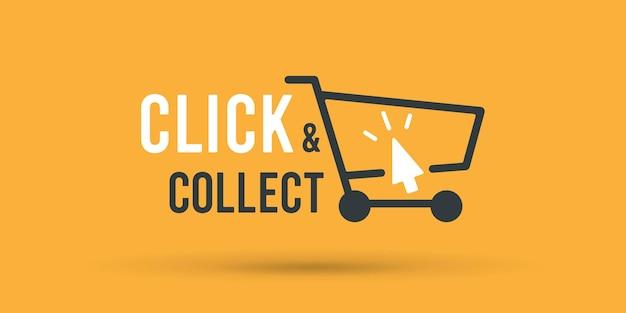 Cliquez et récupérez la bannière du panier du magasin.
