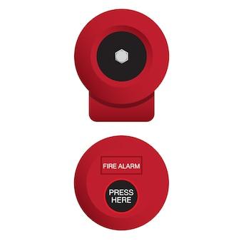 Cloche d'alarme incendie