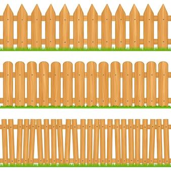 Clôtures en bois
