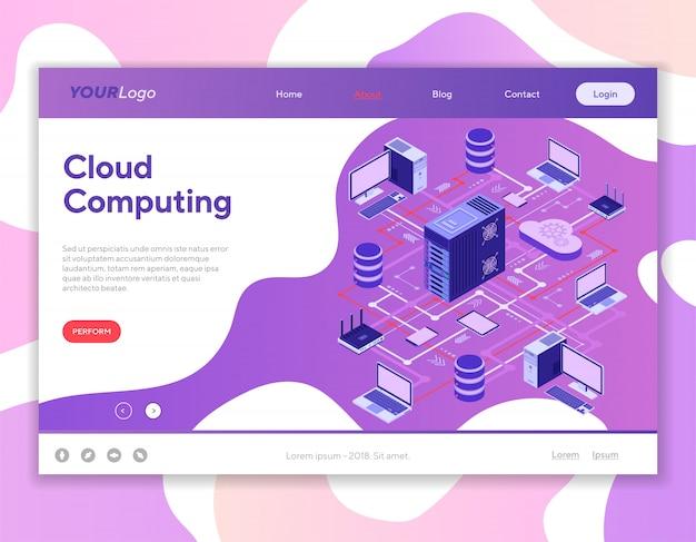 Cloud computing de réseau de données
