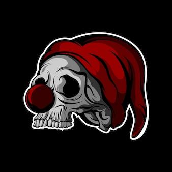 Clown crâne