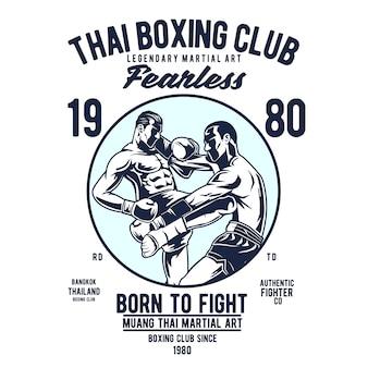 Club de boxe thai