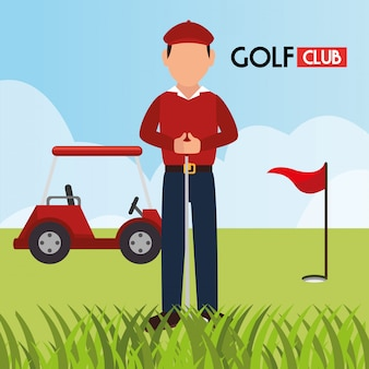 Club de golf sportif