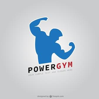 Club de remise en forme de logo