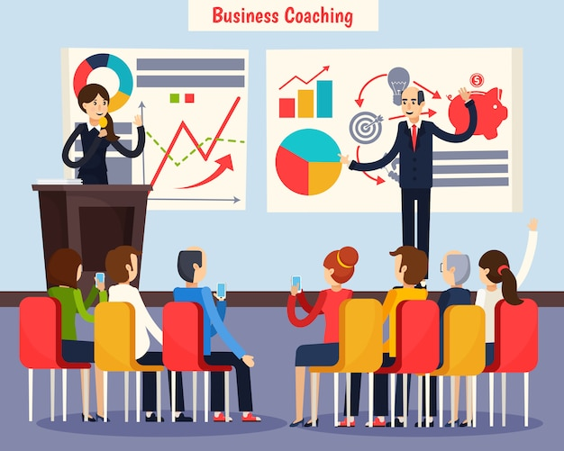 Coaching d'affaires orthogonal