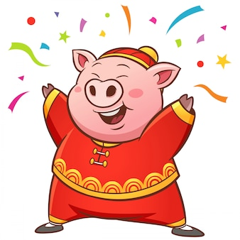Cochon dessin animé