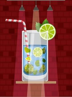 Cocktail frais et tropical