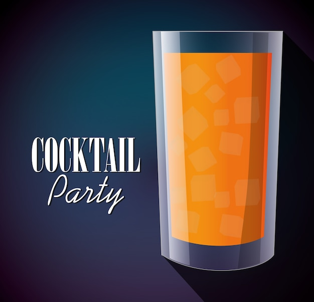 Cocktails coupe verre design