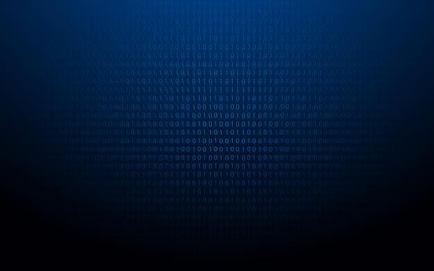 Code binaire abstrait 1 et 0.