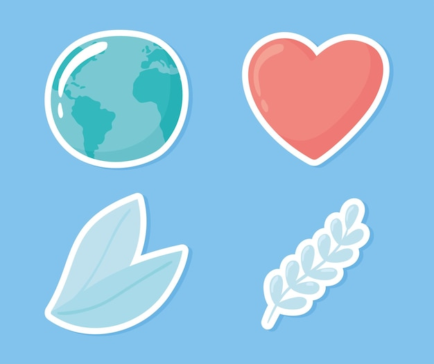 Coeur d'amour du monde