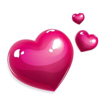 Coeur d'amour de vecteur