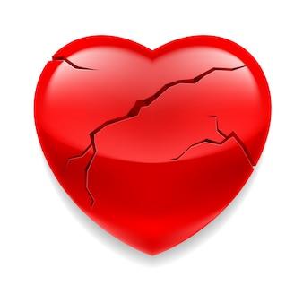 Coeur craquelé
