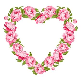 Coeur floral.