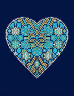 Coeur hichol mexicain