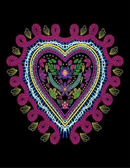 Coeur huichol