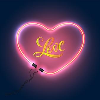 Coeur pour l'amour pour le concept d'amour valentine et carte de mariage.