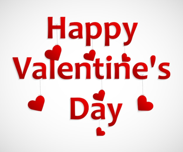 Coeur pour le fond de la saint-valentin.