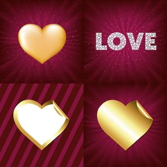 Coeurs d'or