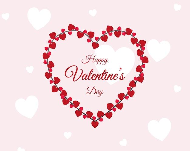 Coeurs de la saint-valentin