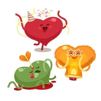 Coeurs valentines