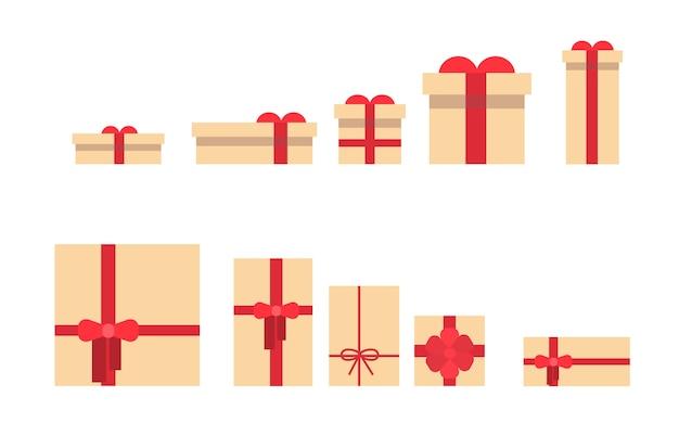 Coffret cadeau collection différente taille
