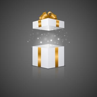 Coffret cadeau avec effet magique