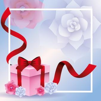 Coffret cadeau romantique