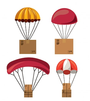 Coffret parachutiste