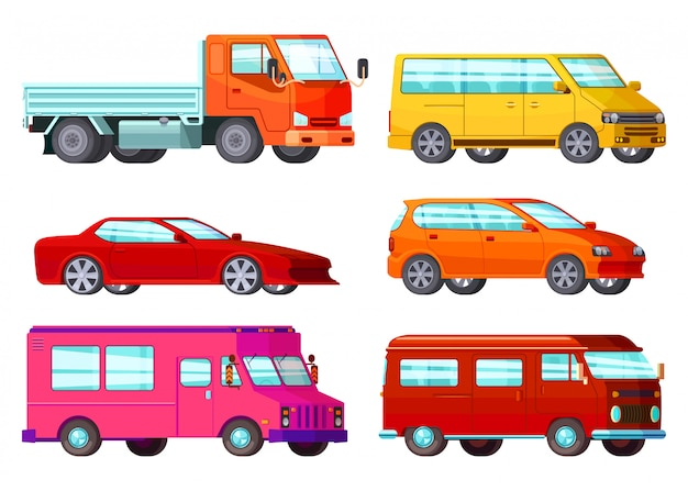 Coffret de voitures orthogonales