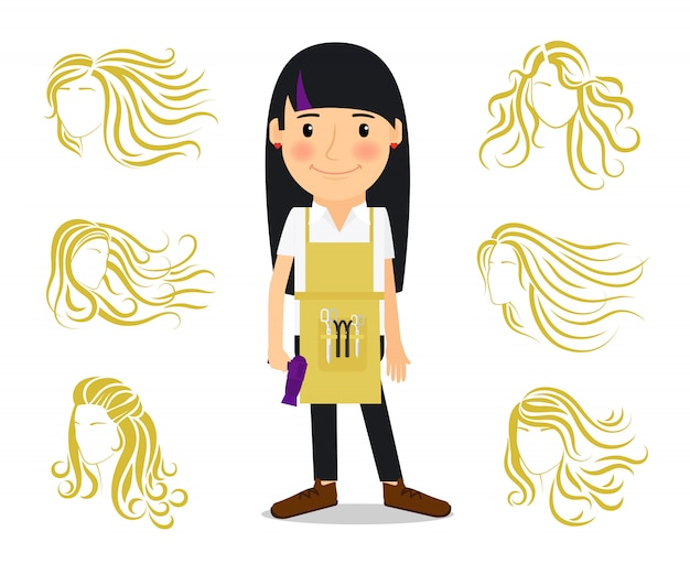 Coiffeur et coiffures féminines