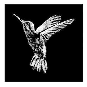Colibri pointilisme