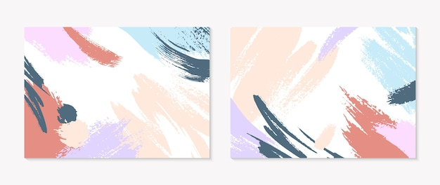Collages modernes universels avec espace de copie pour le texte