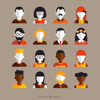 Collecte des avatars vintage