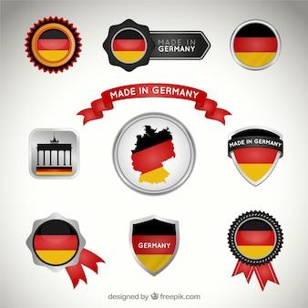 Collecte des badges allemands