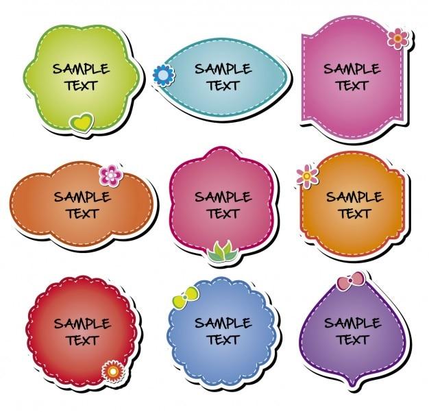 La collecte des badges colorés