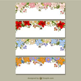 Collecte des bannières florales