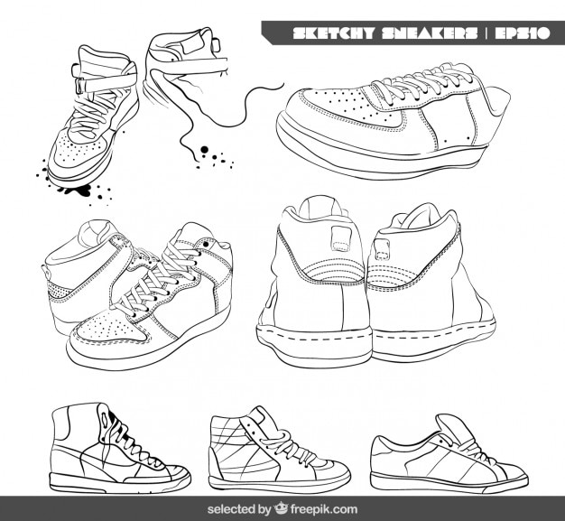 Collecte de baskets sketchy