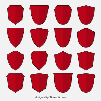 Collecte des boucliers rouges
