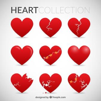 La collecte des coeurs rouges