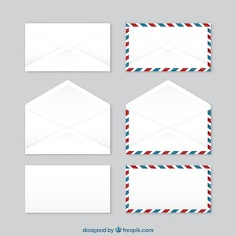 La collecte des enveloppes
