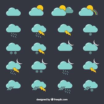 La collecte des icônes météo